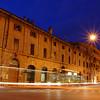 Verona,Italy street scene by night