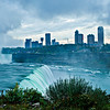 American Falls - Niagara Falls - Canadian Skyline