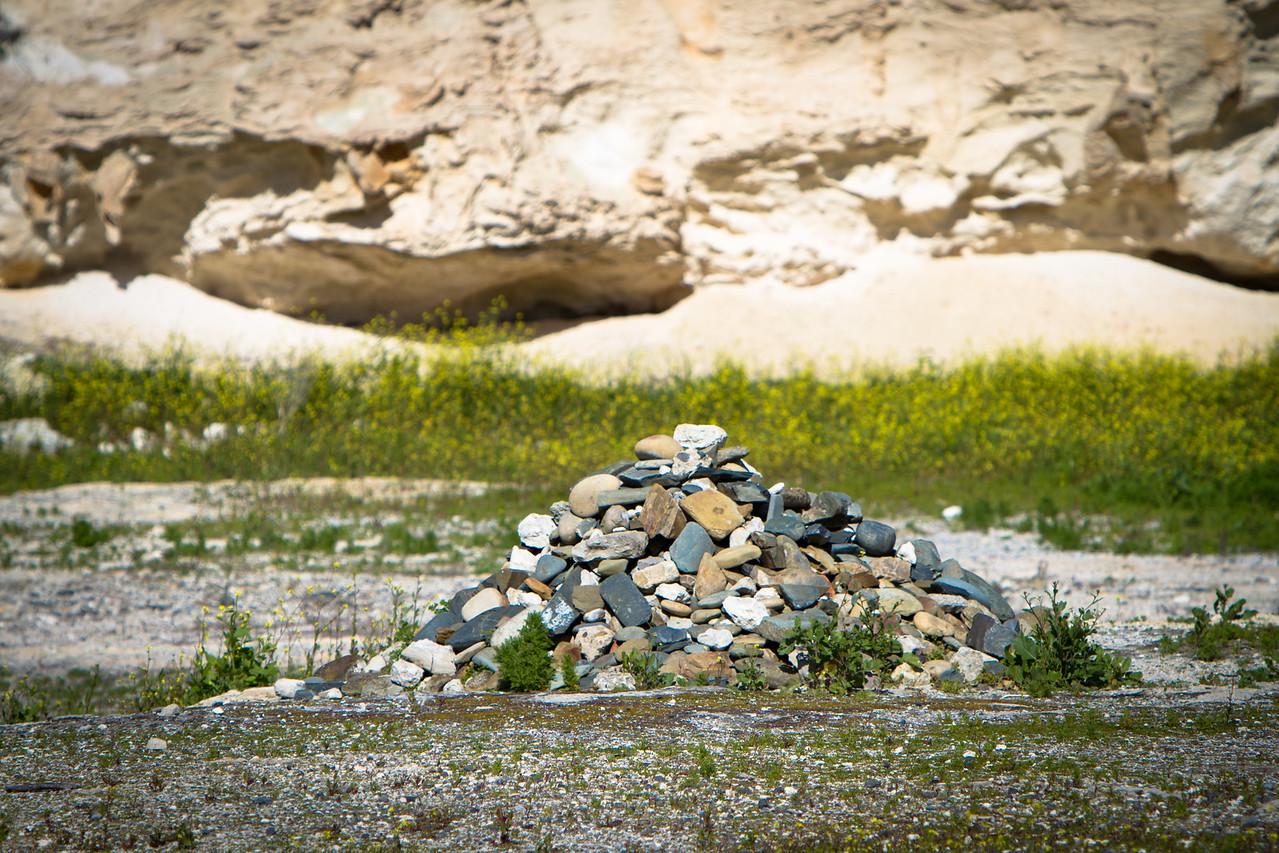 Remembrance Stones on Robben Island