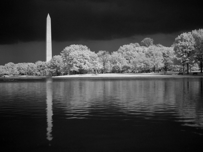 Washington Monument infrared