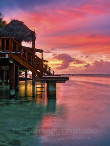 Aitutaki Sunrise, Cook Islands