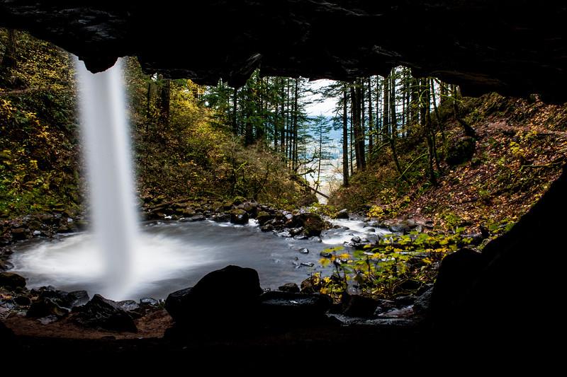 Upper Horsetail Falls. Columbia River Gorge. Cascade Locks, OR