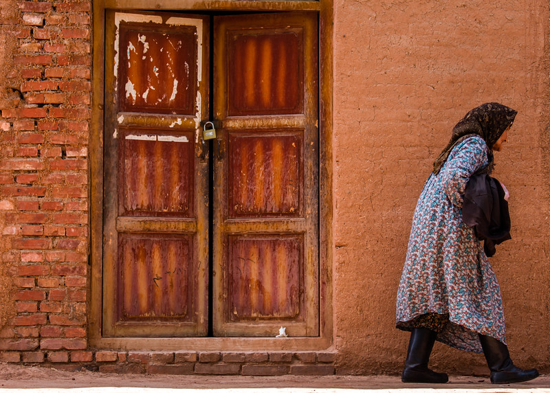 Old lady in Xinjiang