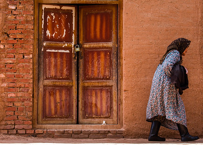 Old lady in Xinjiang