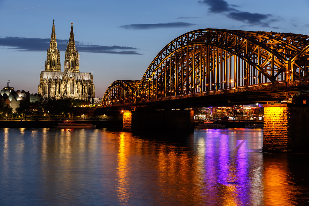 Cathedral and Bridge | Cologne | 2018
