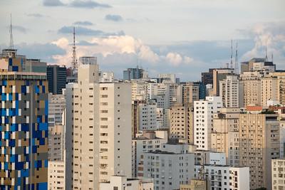 Paulista skyline
