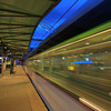 Blaak tram station in Rotterdam, Holland