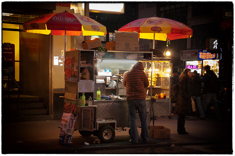NY Night Food, Dec. 2011 [color]