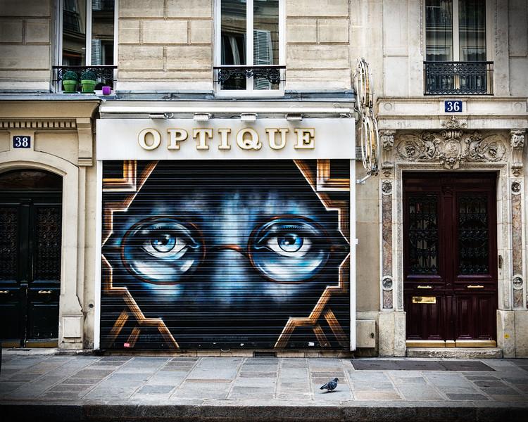 Gatsby eyes, mural art!