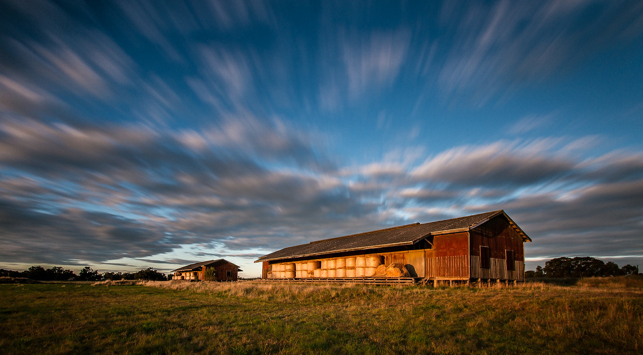 Outback Hay Shed