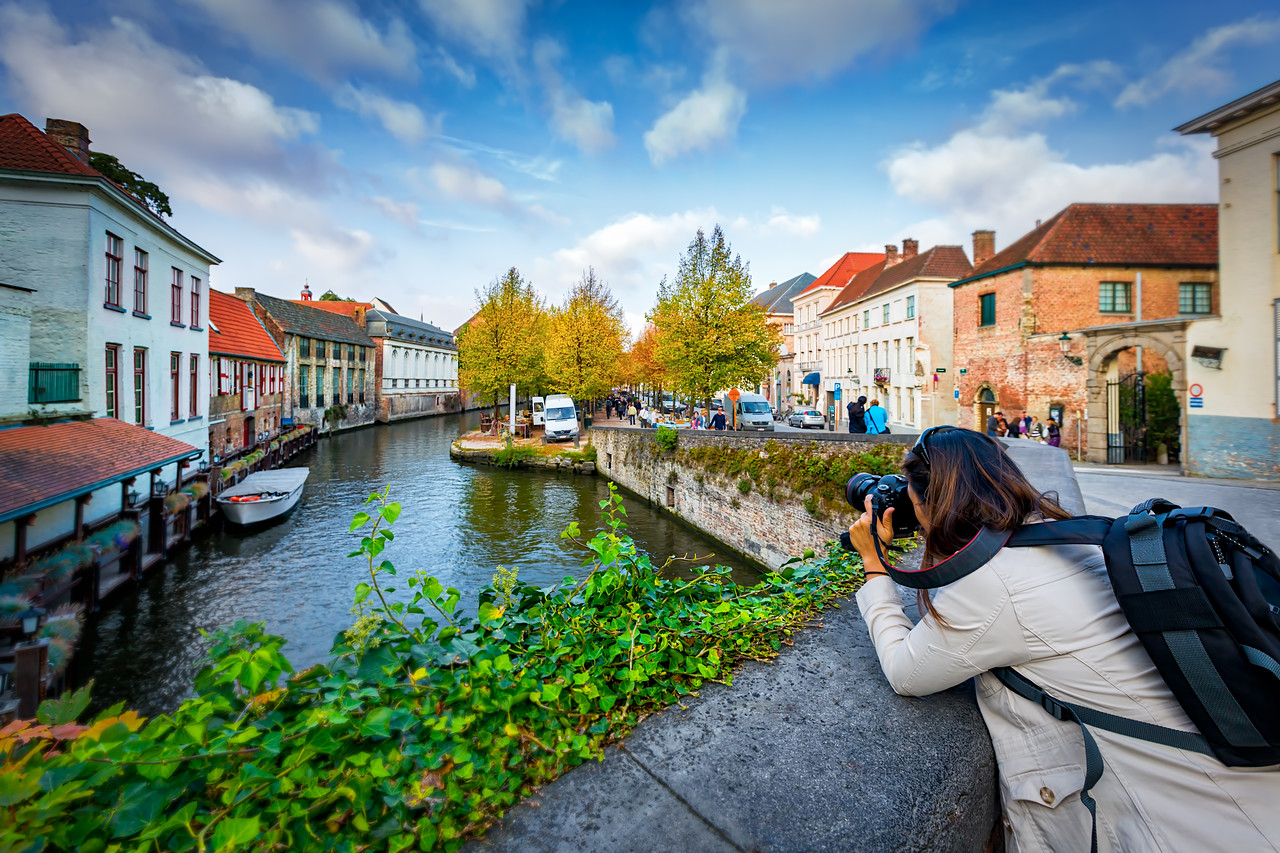 Photographing Bruges