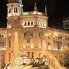 Plaza De Cibeles, Madrid, Spain at night