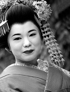 Geisha Girl - Kyoto, Japan