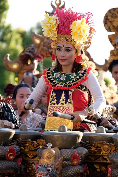 Balinese musician