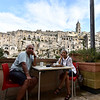 Sassi Matera was indeed the most unusual and memorable city that we have ever visited. View from the B & B that we stayed at!
