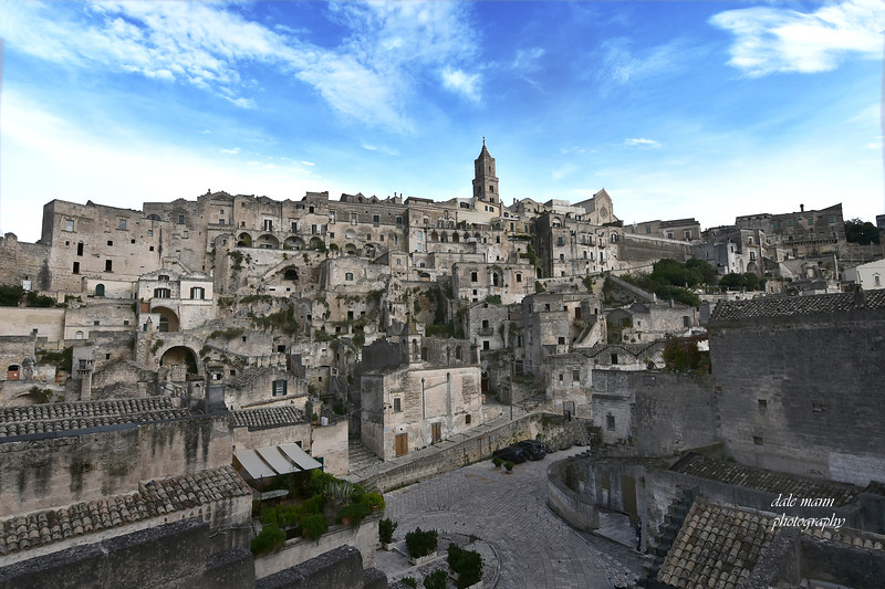 Ancient city of Matera in Italy