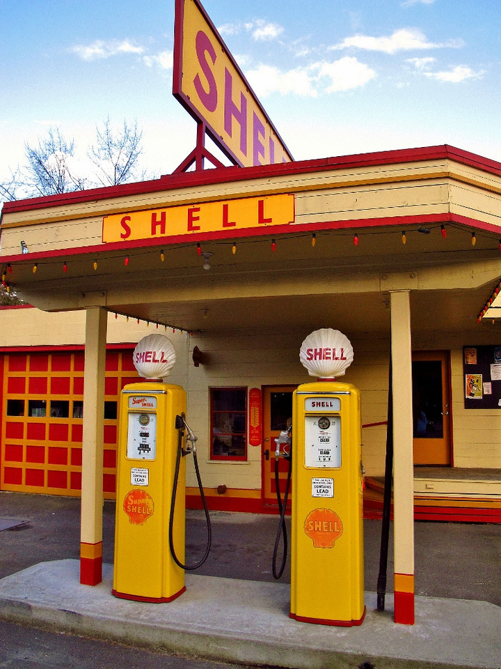 Old Shell Station - Issaquah, WA