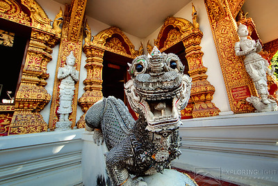 """TEMPLE III, CHIANG MAI""Chiang Mai, ThailandColorful Buddhist temples in the heart of Chiang Mai in Northern Thailand.© Chris Moore - Exploring Light PhotographyPURCHASE A PRINT"