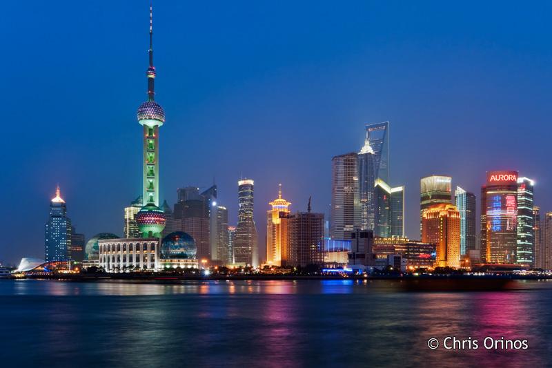 Shanghai | China View from the Bund