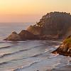 Coastal Lighthouse Sunset