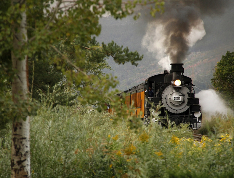 Durango & Silverton Railroad - Durango, CO