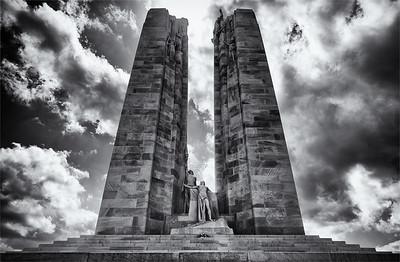Monument at Vimy Ridge, Northern France