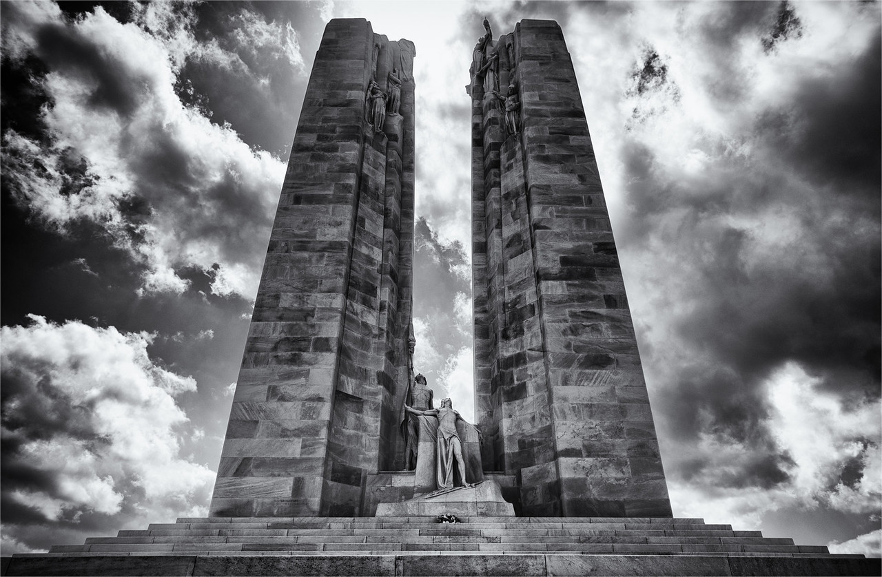 Monument at Vimy Ridge, Northern France