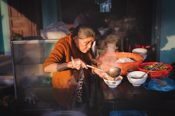 Noodles in Hoi'an