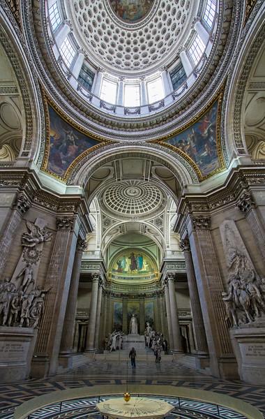 Inside the Panthéon - Paris