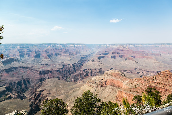 Grand Canyon South Rim, at Mather Point