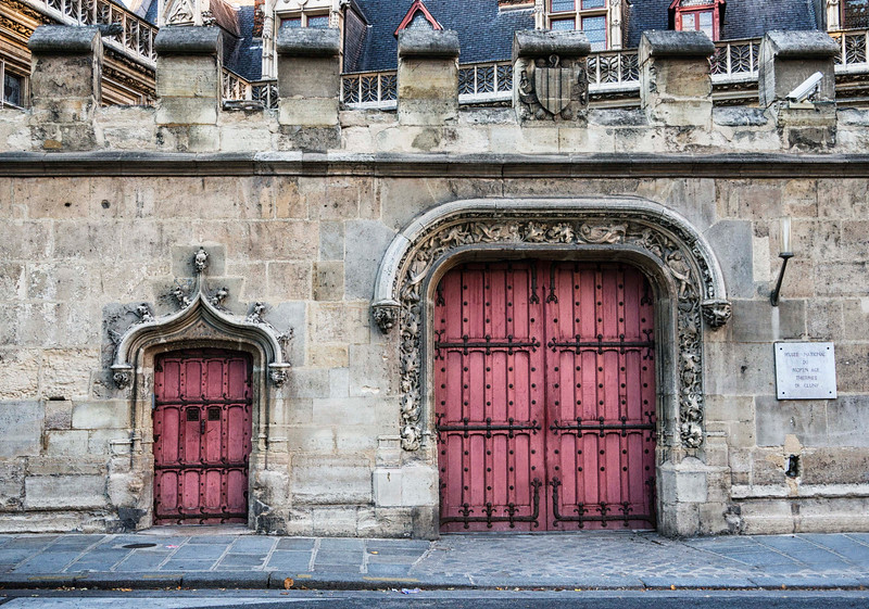 Door detail, Musee National du Moyen Age!