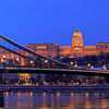 Szchenyi Lanchid (Chain bridge) Budapest, Hungary