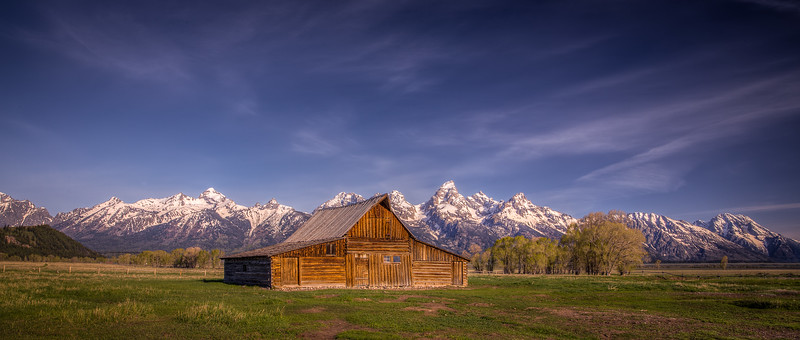 Mormon Barn - Grand Teton National Park