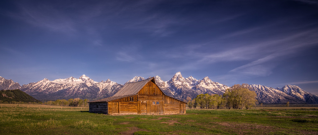 Mormon Barn - Grand Teton National Park