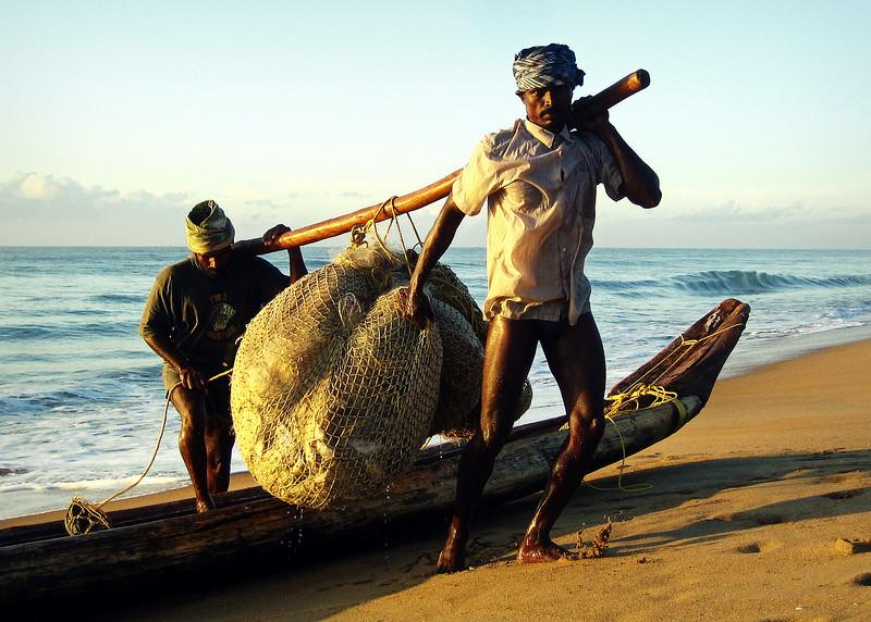 Fishermen II - Mahabalapurum