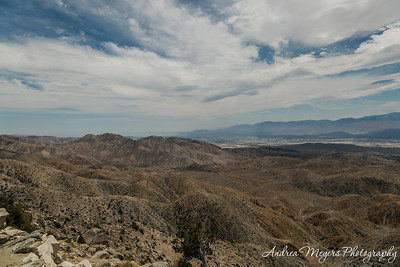 Keys View overlook, Joshua Tree National Park