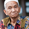 Elderly Indonesian man