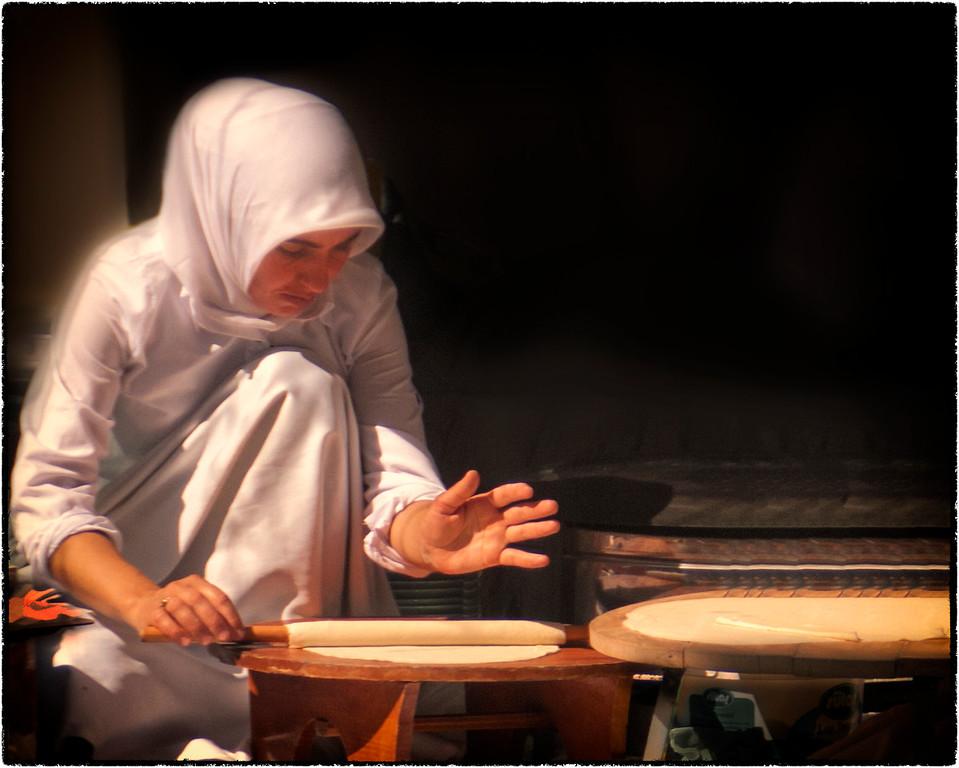 Making Lavash: Istanbul, Turkey