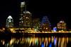 Auditorium Shores at Night, Austin Texas