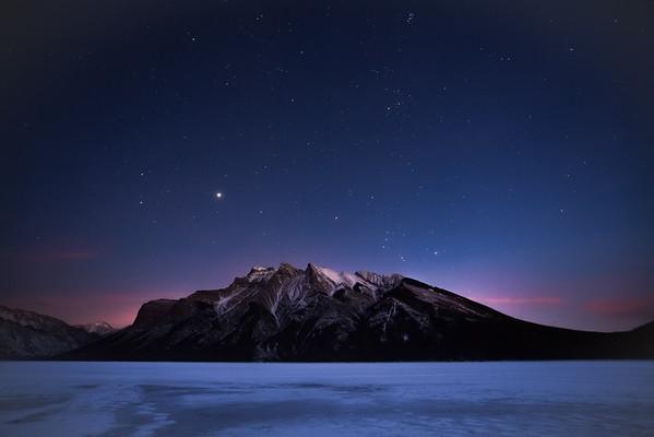 Lake Minnewanka Stars