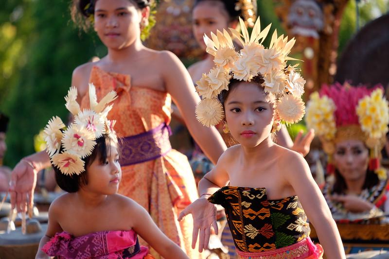 Balinese dancers