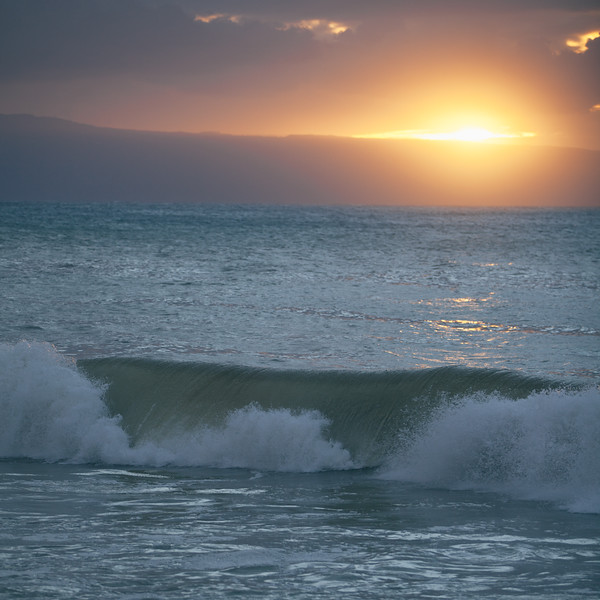 Wave. Maui, Hawaii.
