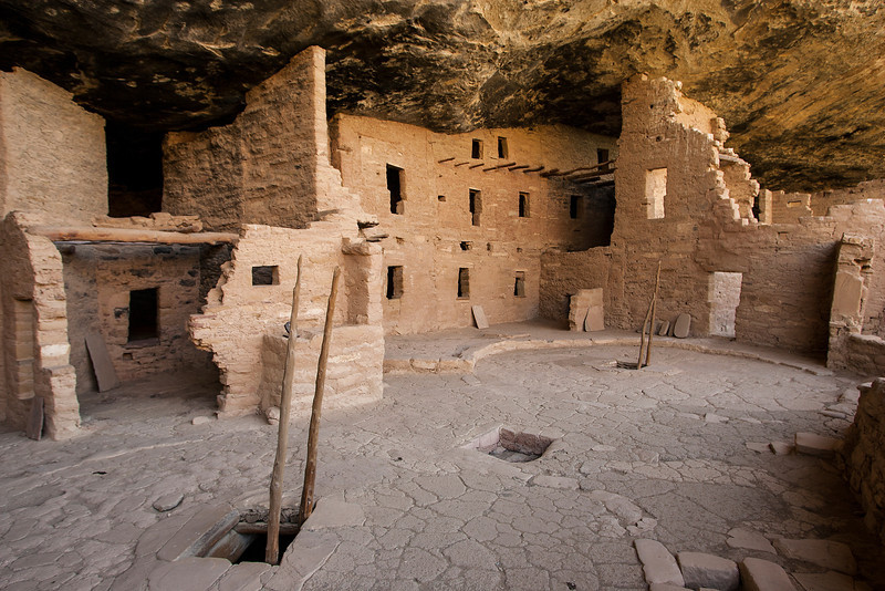 Spruce Tree Ruin - Mesa Verde National Park