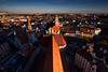 Overlooking from St. Peterskirche, Munich Germany