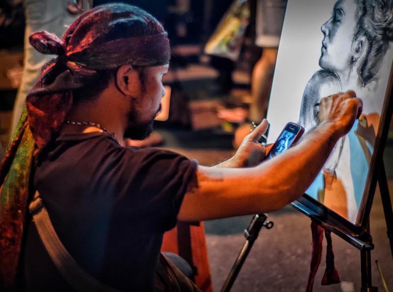 Street Artist: Chiang Mai, Thailand