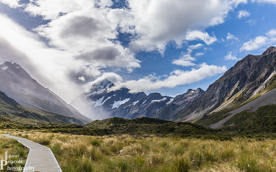 Mount Cook and Hooker Valley, NZ