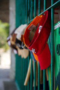 The hats, Yelapa, Mexico, 2011