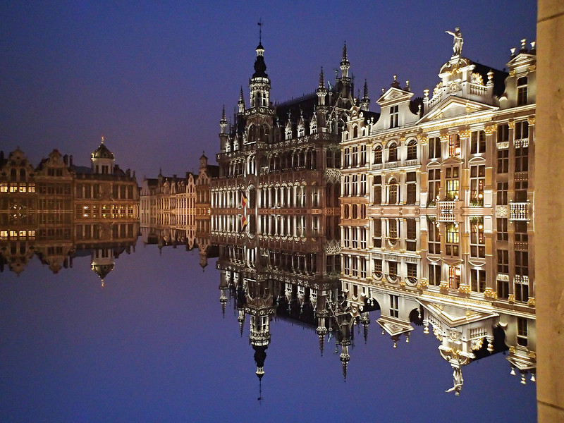Fun with Mirror Mode in Brussles