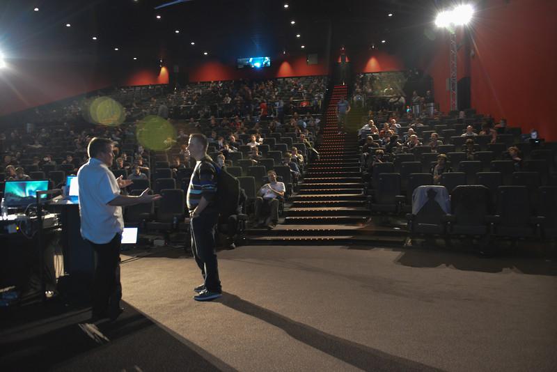 Matt speaking at Devoxx 2013