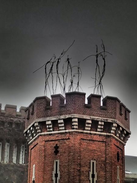 Spirits Dancing on top of the Petit Château Klein Kasteel